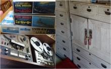 模型・オーディオ機器・タンスなどの家具に到るまで様々なものが買取可能であることを示す商品画像