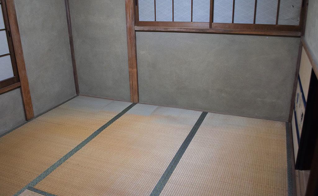 片付け後の和室