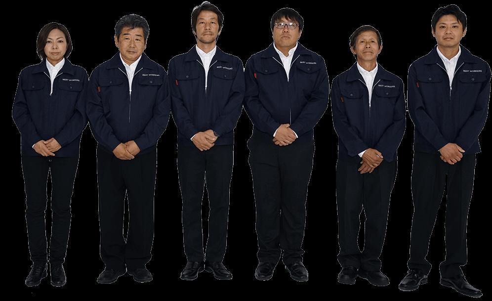 横浜ベスト遺品整理社の社員たちの画像