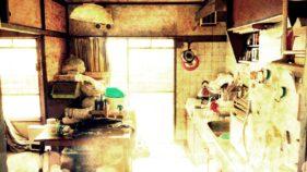 遺品整理前の部屋の画像
