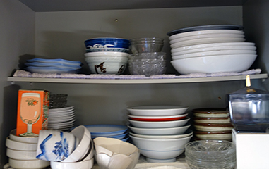 遺品整理の買取品目:食器