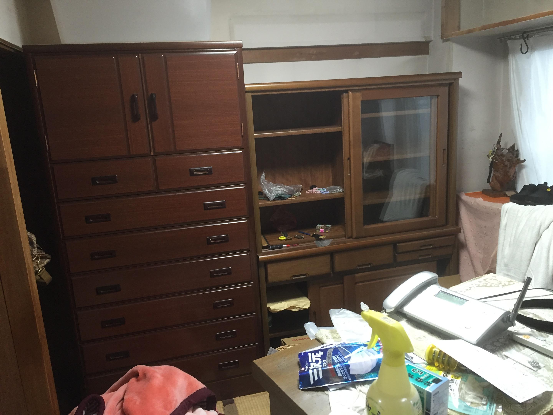 作業前のお部屋