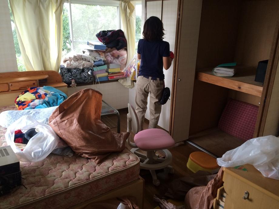 横浜市中区 清掃作業
