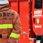 消防隊員と消防車:空き家の火災を防ぐために