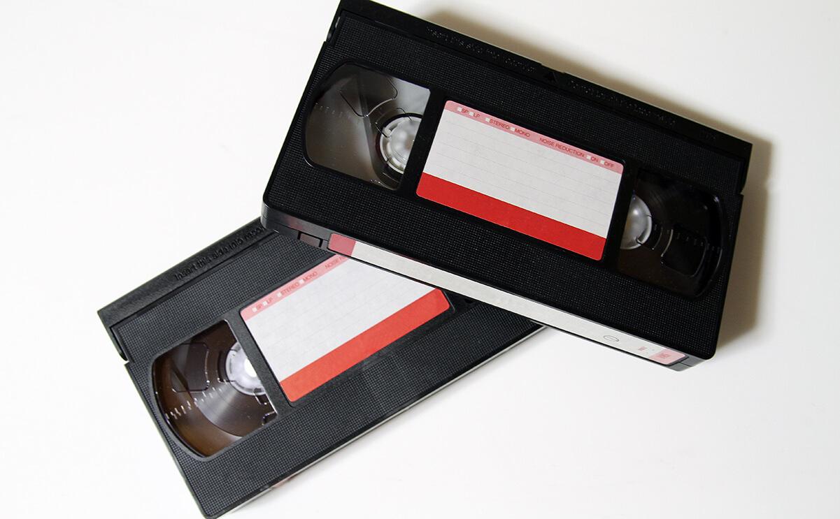 VHSテープの画像