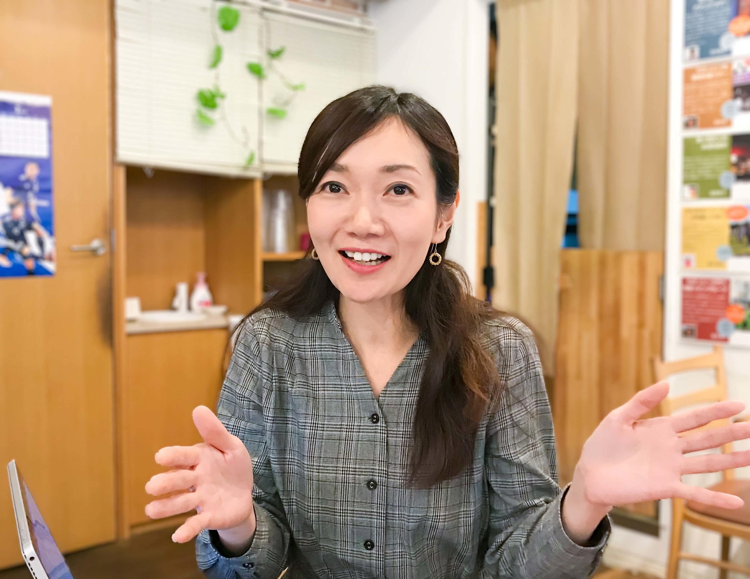 こころBOOK代表西村友美さんの写真
