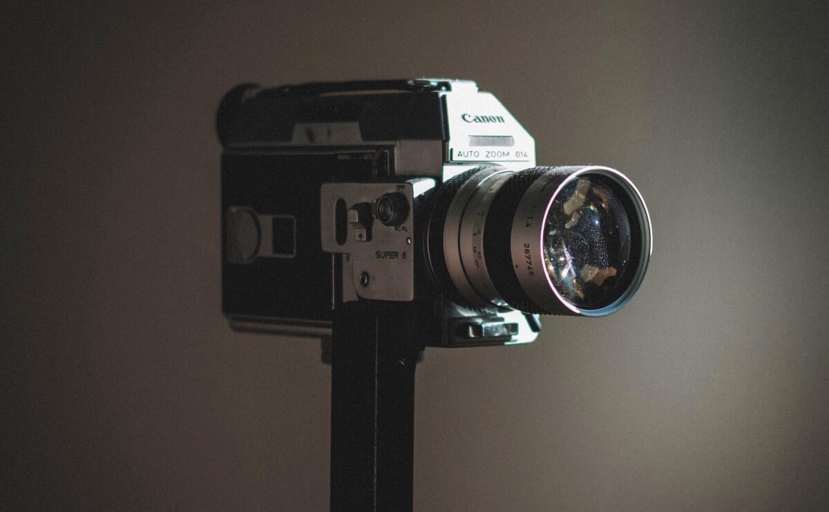 8mmフィルムカメラの画像